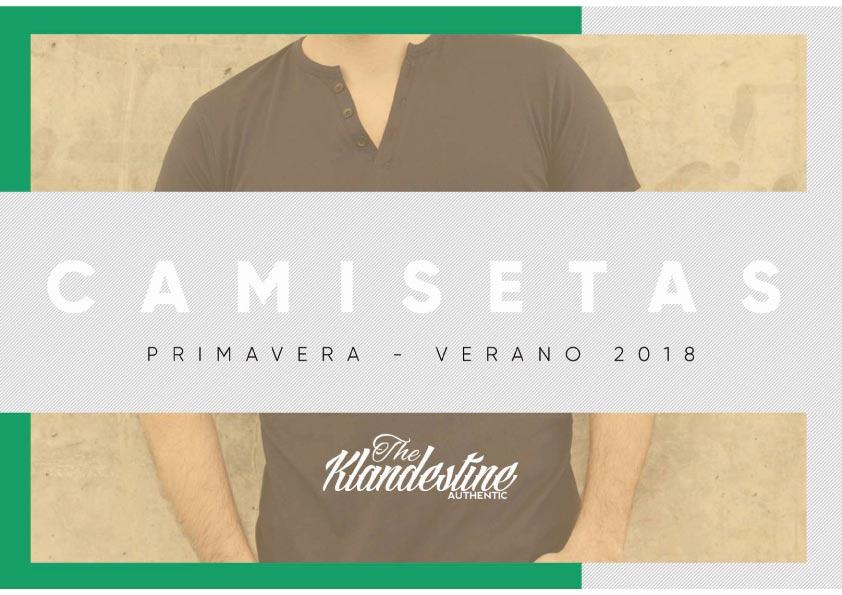 camiseta Colección de Klandestine verano 2018