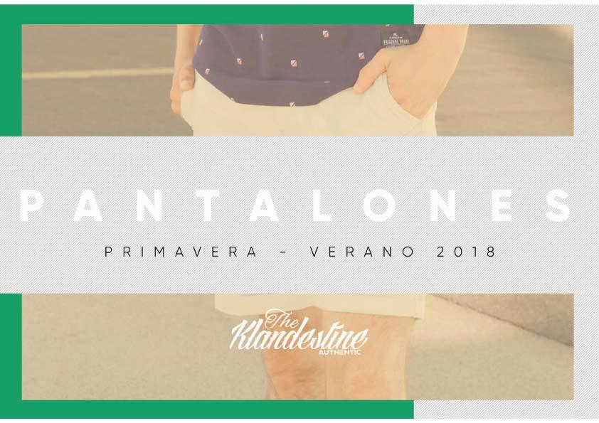 pantalones Colección de Klandestine verano 2018