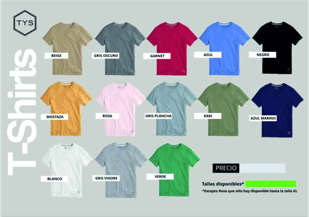 camisetas-basicas-tys-1024x721 Colección de ropa TYS para invierno 2021